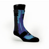 Aqua Eruption Custom HoopSwagg Socks