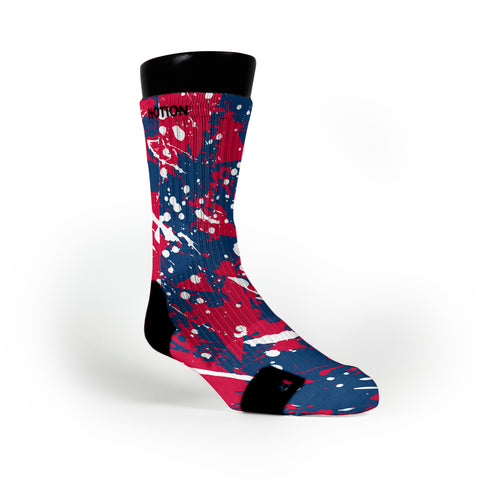 Arizona Splatter Custom Notion Socks