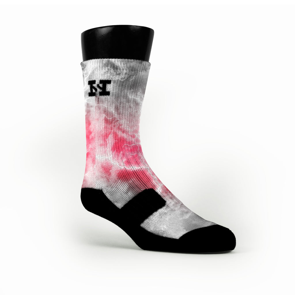 Ash Thunder Custom HoopSwagg Socks