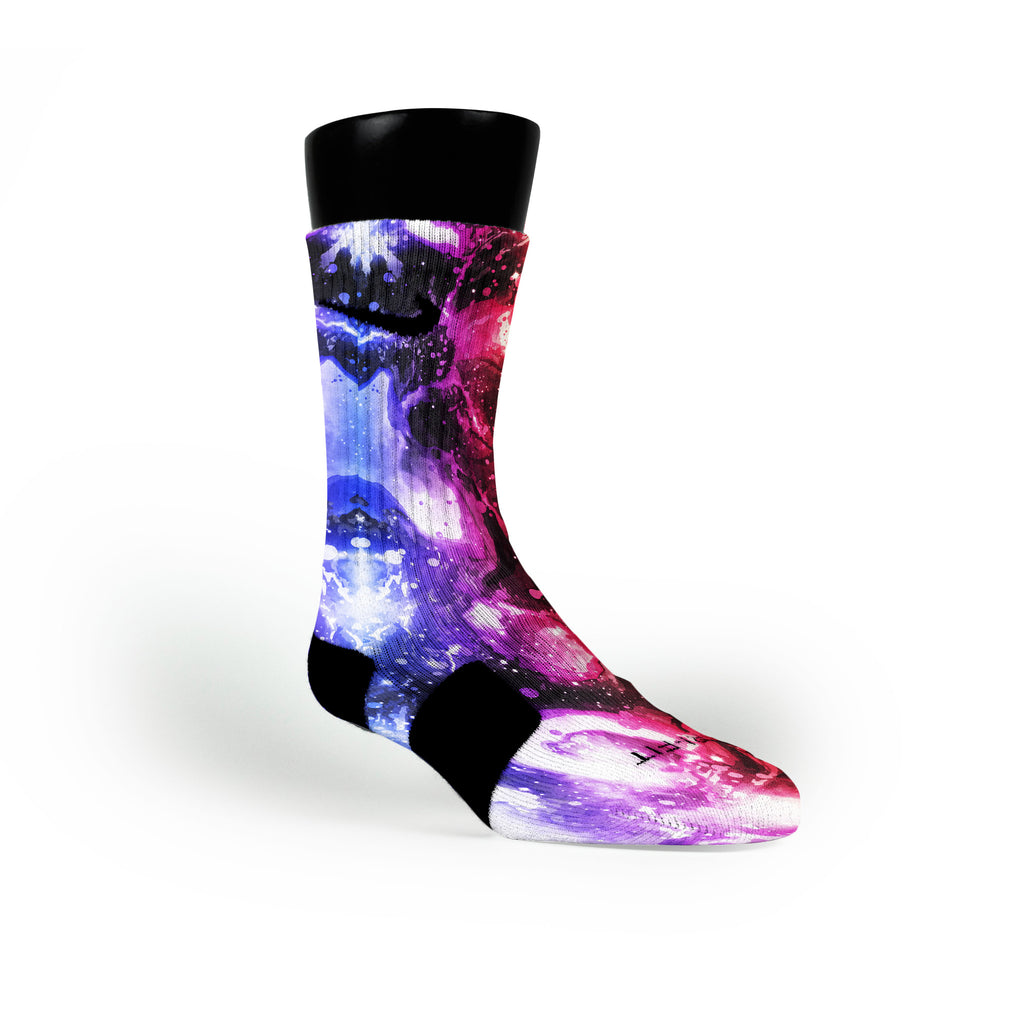 Asteroid Custom Nike Elite Socks