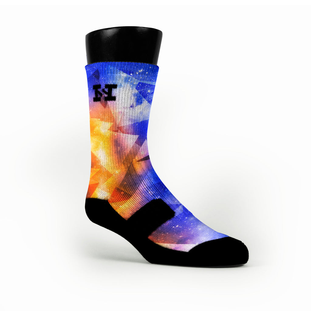 Astro Diamonds Custom HoopSwagg Socks