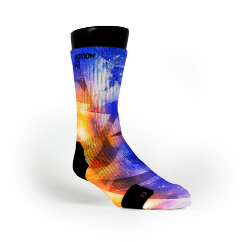 Astro Diamonds Custom Notion Socks