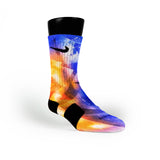 Astro Diamonds Custom Nike Elite Socks