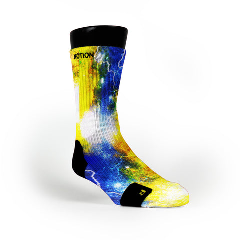 Astro Galaxy Custom Notion Socks