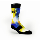 Astro Galaxy Custom HoopSwagg Socks