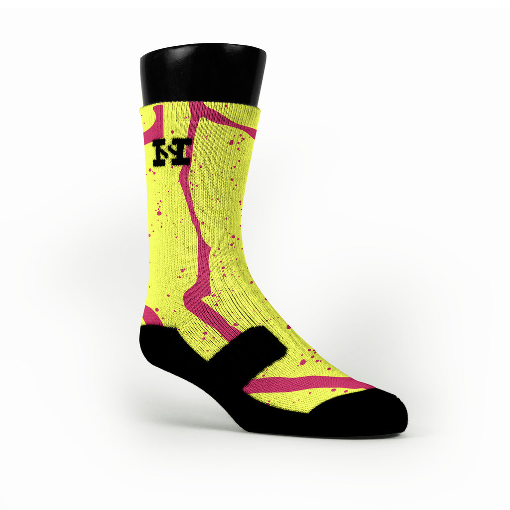 Atomic Trails Custom HoopSwagg Socks