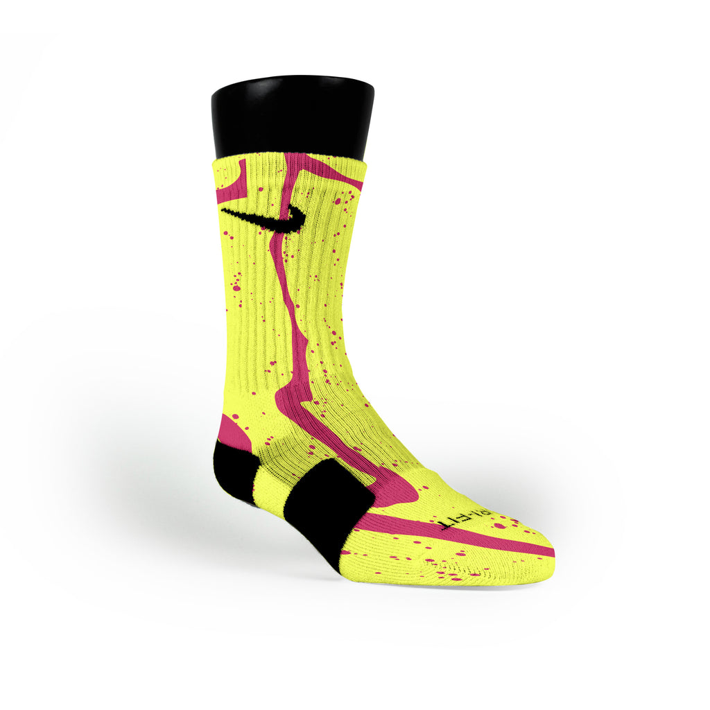 Atomic Trails Custom Nike Elite Socks