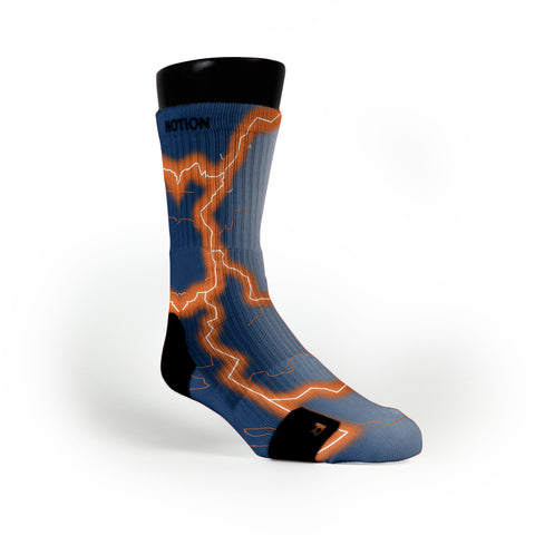 Auburn Storm Custom Notion Socks