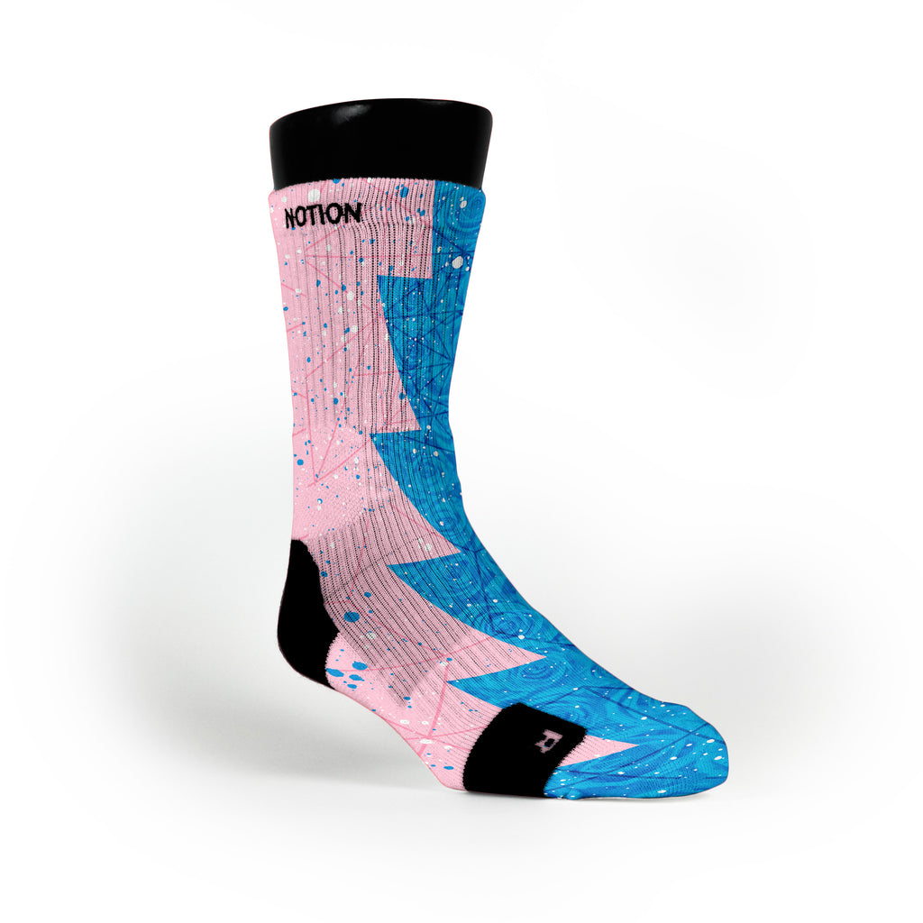 Aunt Pearl Razor Custom Notion Socks