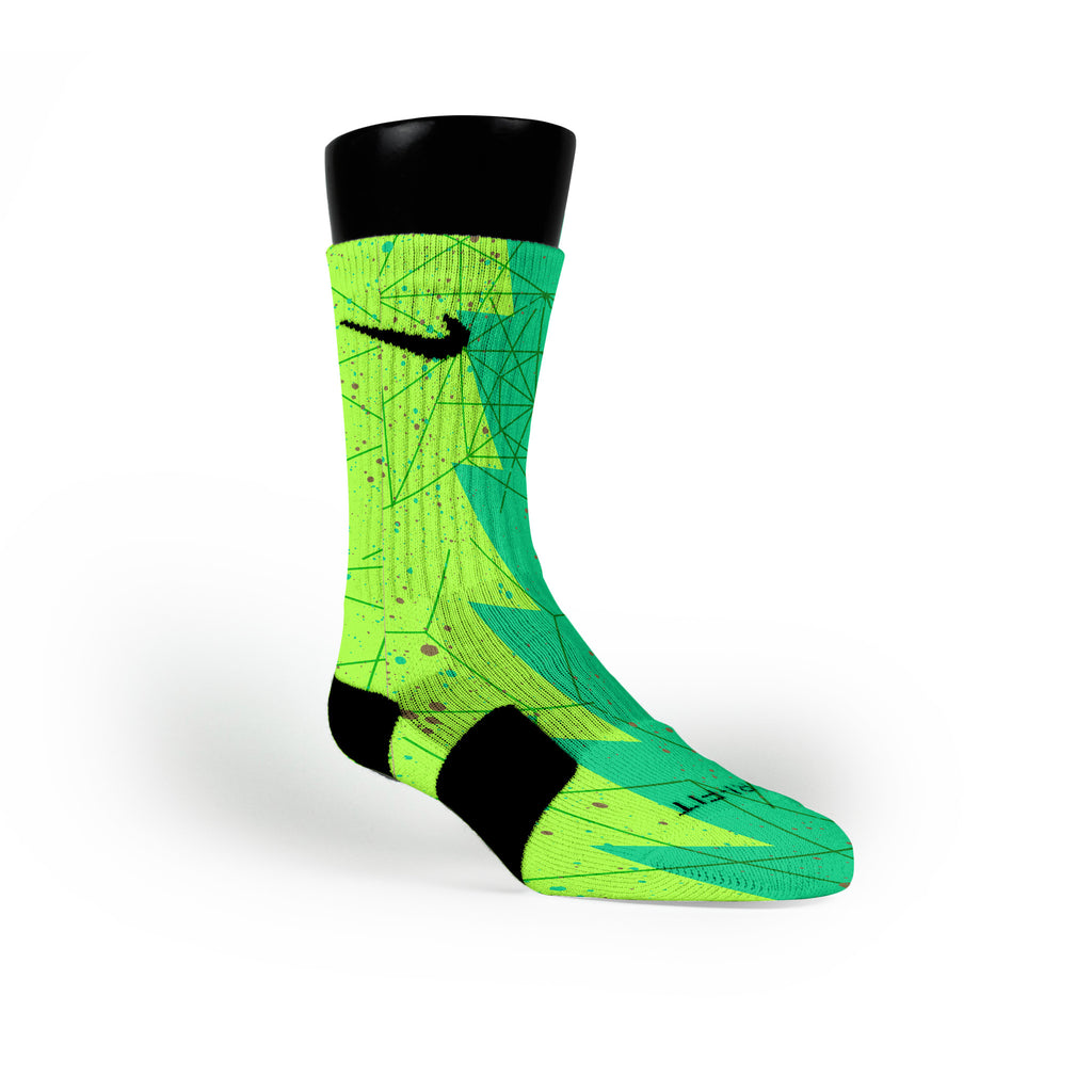 Bamboo Razor Custom Nike Elite Socks