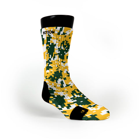 Baylor Digital Camo Custom Notion Socks