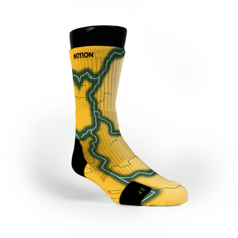 Baylor Storm Custom Notion Socks