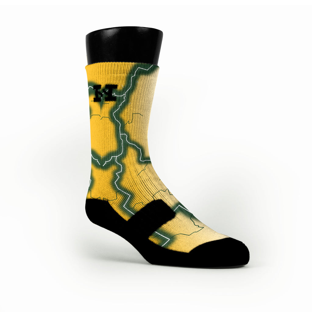 Baylor Storm Custom HoopSwagg Socks