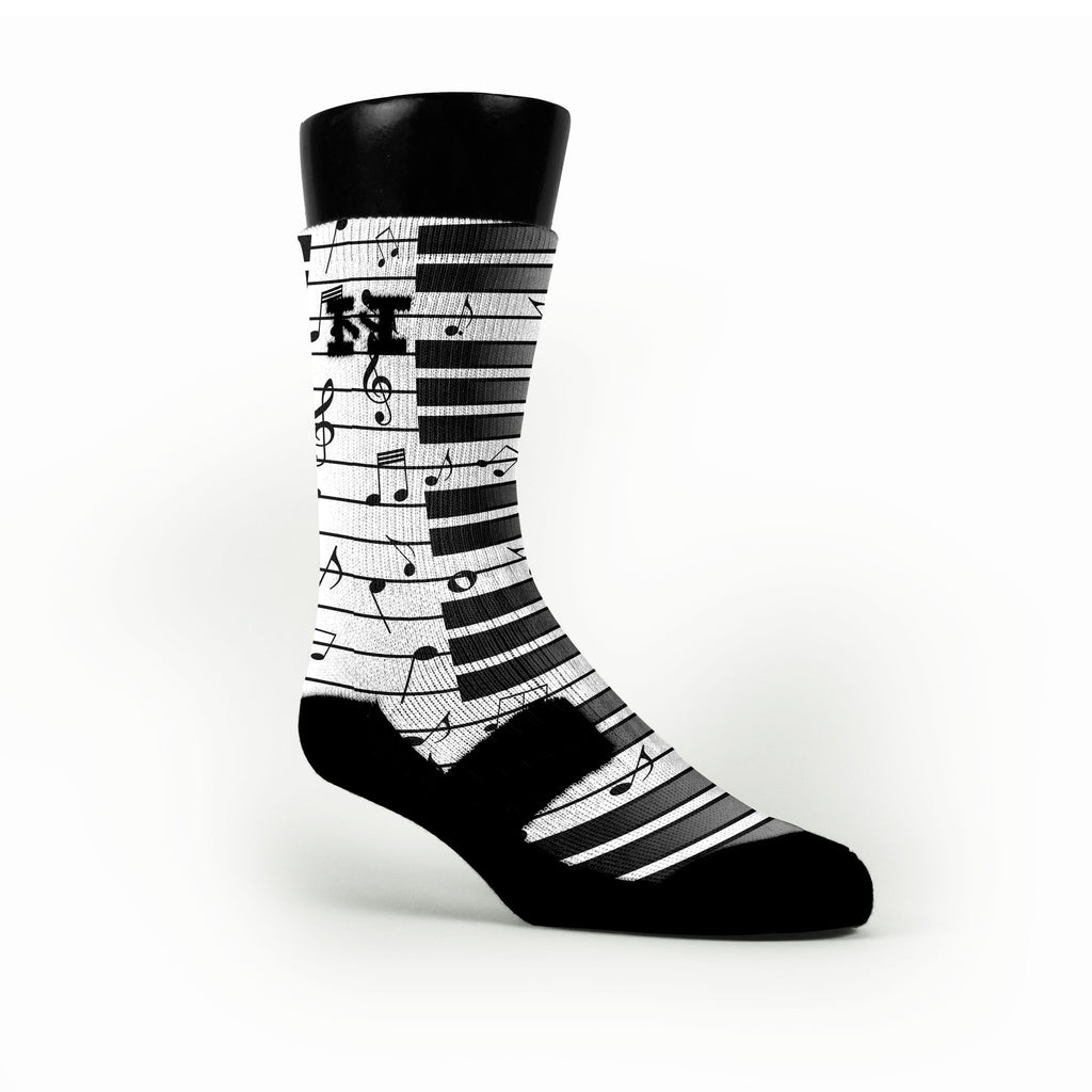 Beethovens Piano Custom HoopSwagg Socks