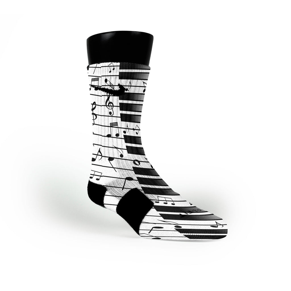 Beethovens Piano Custom Nike Elite Socks