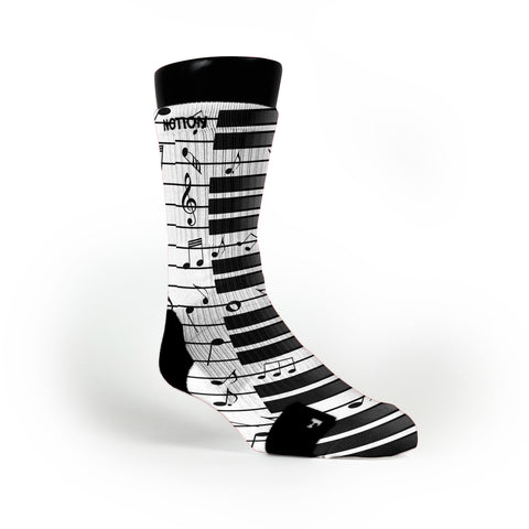 Beethovens Piano Custom Notion Socks
