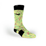 Blob Camo Custom Nike Elite Socks