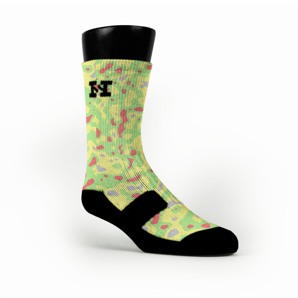 Blob Camo Custom HoopSwagg Socks