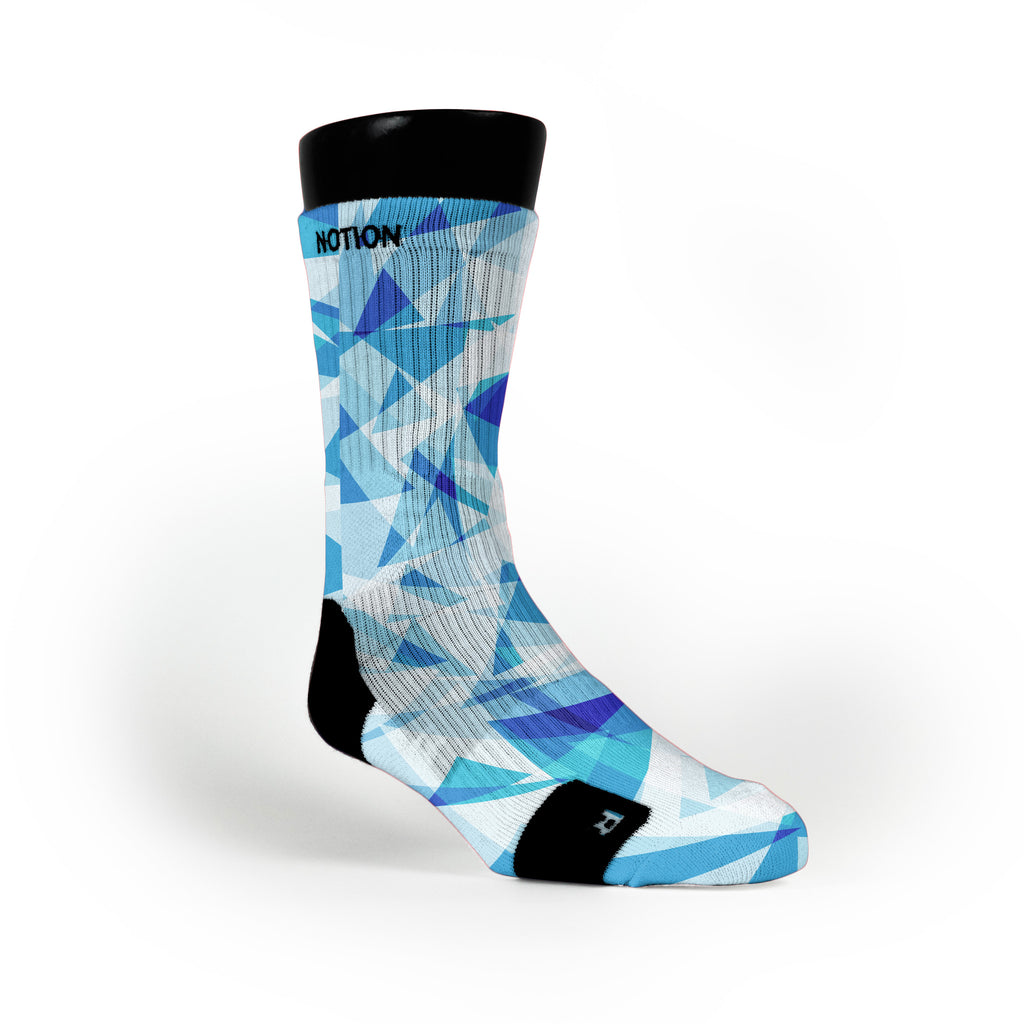 Blue Diamonds Custom Notion Socks