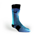 Blue Galaxy Custom Nike Elite Socks