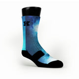 Blue Galaxy Custom HoopSwagg Socks