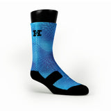 Blue Gems Custom HoopSwagg Socks