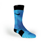 Blue Gems Custom Nike Elite Socks