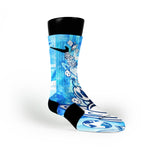 Blue Moon Man Custom Nike Elite Socks
