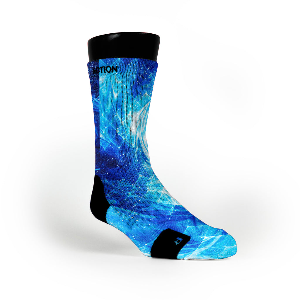 Blue Sapphire Custom Notion Socks