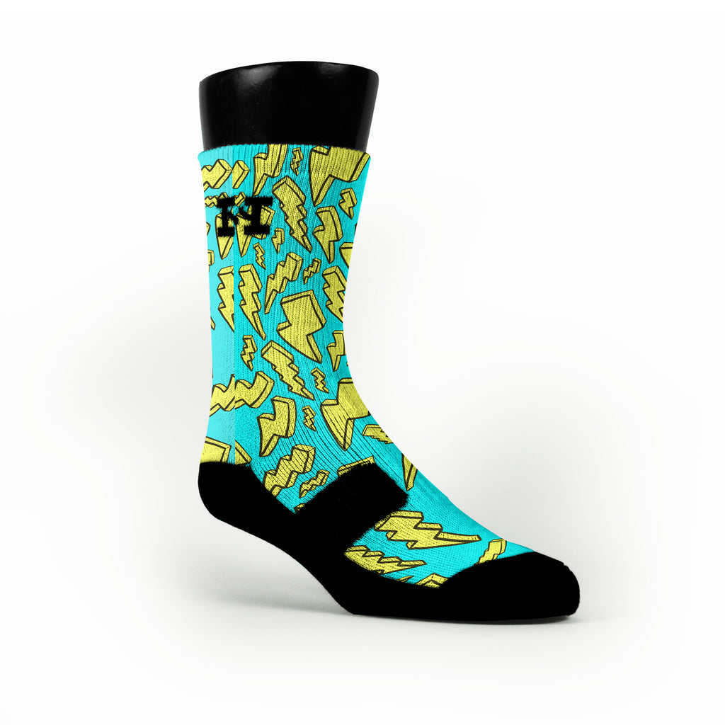 Bolts Custom HoopSwagg Socks