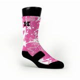 Breast Cancer Frogs Custom HoopSwagg Socks