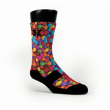 Candy V 2 Custom HoopSwagg Socks