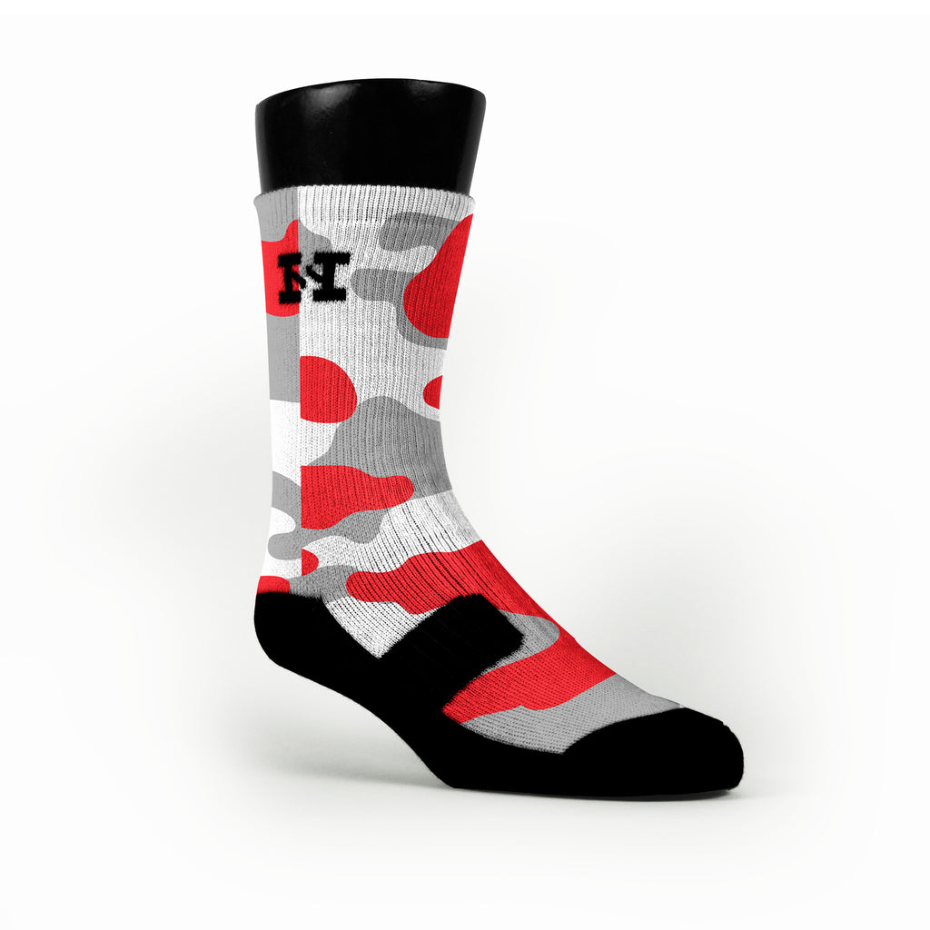 Chicago Camo Custom HoopSwagg Socks