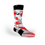 Chicago Camo Custom Nike Elite Socks