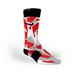 Chicago Hardwood Camo Custom Nike Elite Socks