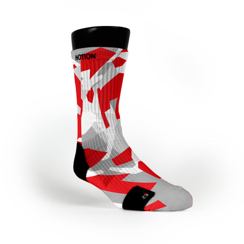 Chicago Hardwood Camo Custom Notion Socks