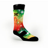 Christmas Galaxy Custom HoopSwagg Socks