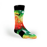 Christmas Galaxy Custom Nike Elite Socks