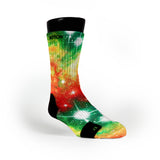 Christmas Galaxy Custom Notion Socks