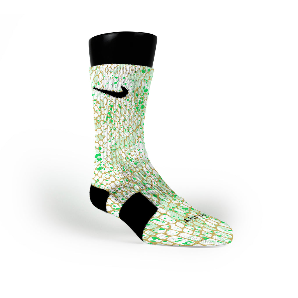 Christmas Skin Custom Nike Elite Socks