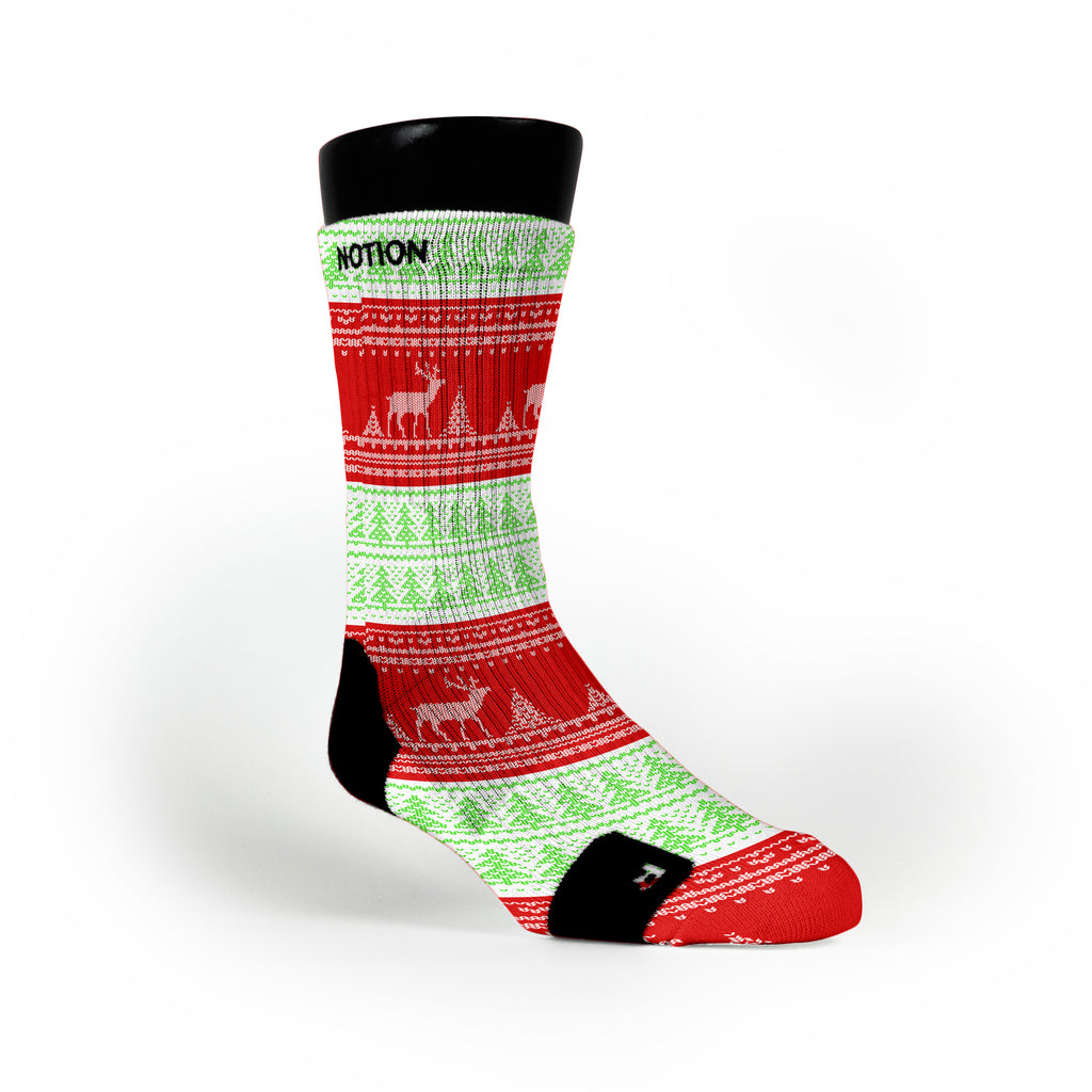 Christmas Sweater Custom Notion Socks