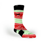 Christmas Sweater Custom Nike Elite Socks