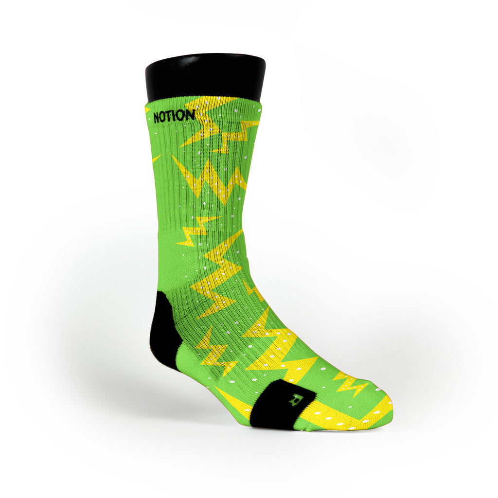Christmas Volts Custom Notion Socks