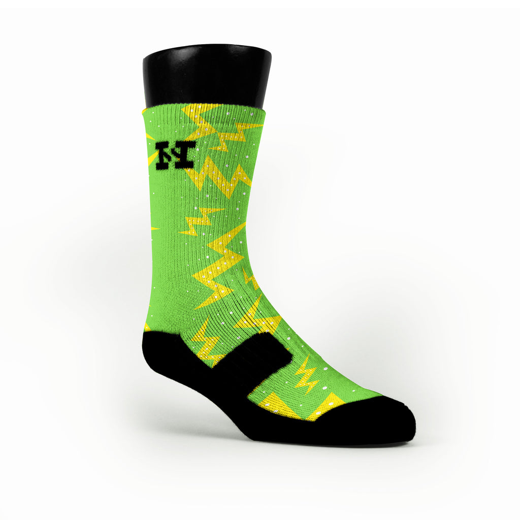 Christmas Volts Custom HoopSwagg Socks