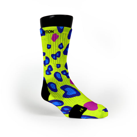 Citrus Cheetah Custom Notion Socks