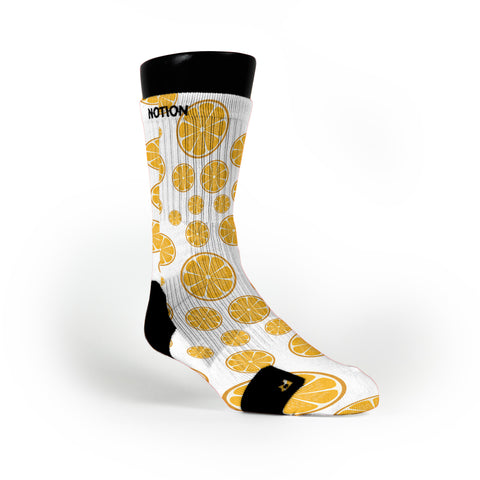 Citrus Rush Custom Notion Socks