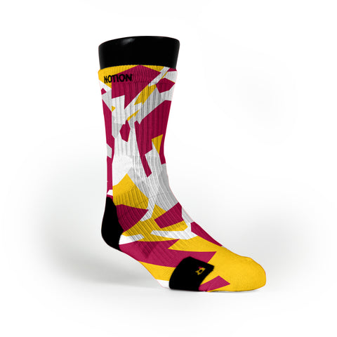 Cleveland Hardwood Camo Custom Notion Socks