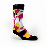 Cleveland Hardwood Camo Custom HoopSwagg Socks