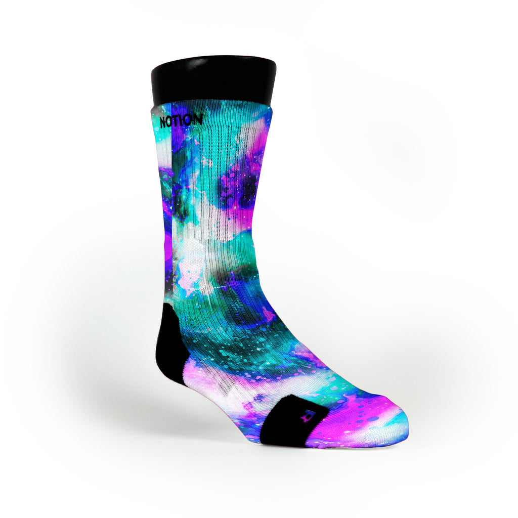 Cold Planet Custom Notion Socks