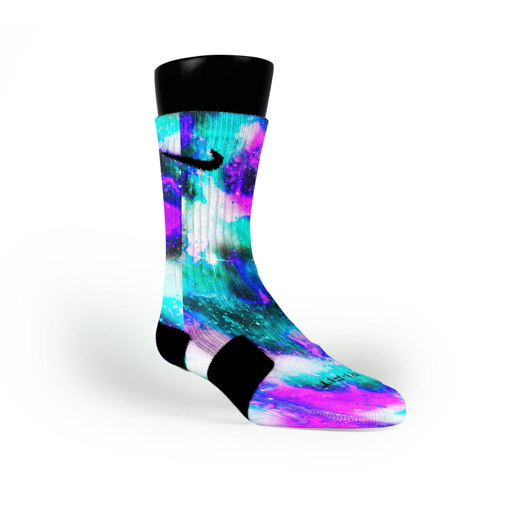 Cold Planet Custom Nike Elite Socks